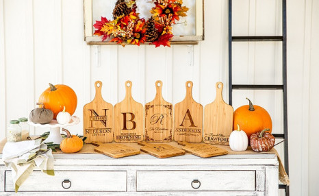 Up to 92% off Personalized Bamboo Serving Boards