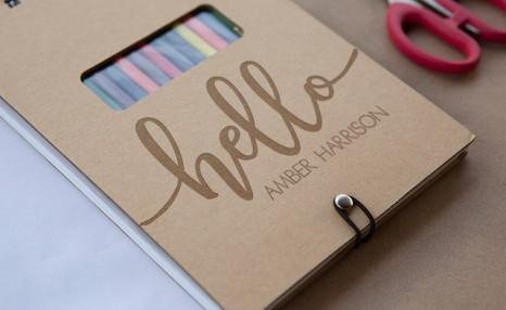 Click to view $12.99 for a Personalized Sketch Pad (a $52.91 Value)