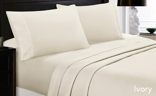 $21.90 for 6-Piece Bamboo Softness Sheets Available in Twin, Double, Queen, or King Sizes (a $125 Value)