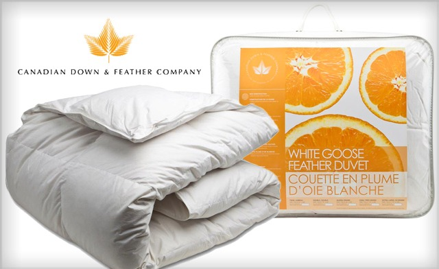 Up to 61% off a White Goose Feather Duvet