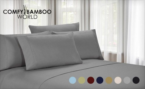 $22.99 for Luxury Microfibre Sheets Available in Twin, Double, Queen or King Sizes (a $129 Value)