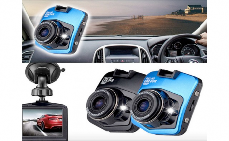 $25 & Up for a Full HD 1080P Car DVR Dash Accident Camera with Night Vision (a $124 Value)