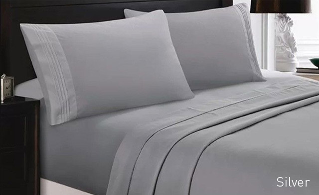 Up to 80% Off a 6-Piece Bamboo Comfort Sheet Set