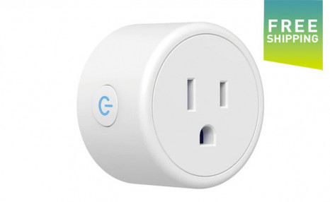 $29 for an Amazon Alexa and Google Assistant WiFi Smart Outlet Plug - Shipping Included (a $39 Value)