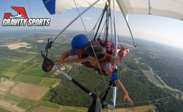 $99 for a Tandem Hang-Gliding Session in East Gwillimbury (a $175 Value)