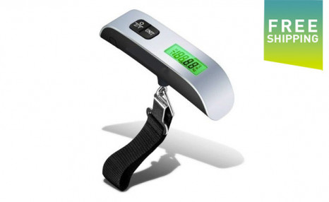 $17.95 for a Digital Luggage Scale - Shipping Included (a $38 Value)