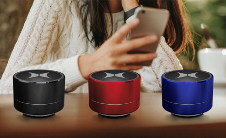 $23.15 for a Helix Light-up Bluetooth Speaker - Shipping Included (a $39.95 Value)