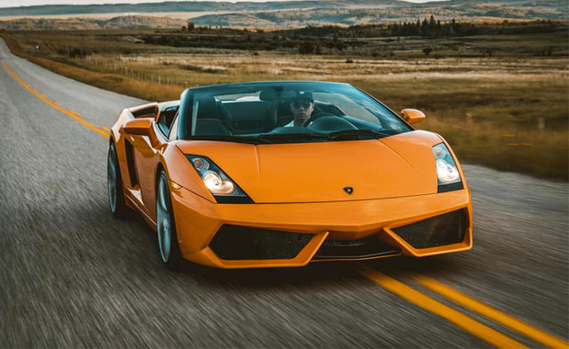 Up to 50% off a Test Drive in a Supercar