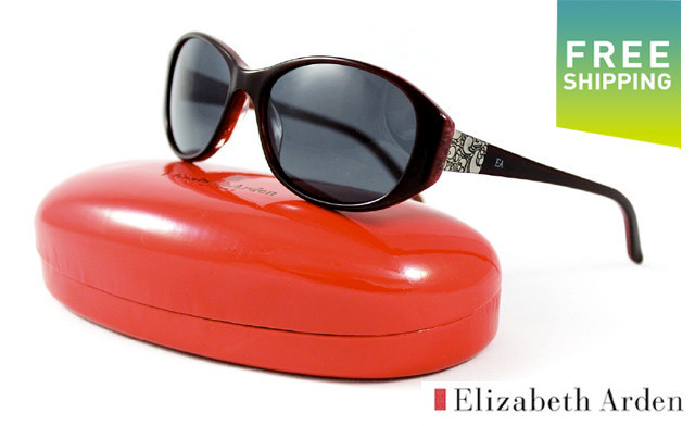$34.95 for Burgundy Elizabeth Arden Sunglasses  - Shipping Included (a $120 Value)