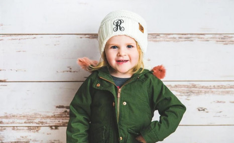 $5.99 for a Personalized Kids Beanie (a $26.66 Value)