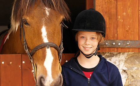 Click to view Up to 57% Private Horseback Riding Lessons for Kids
