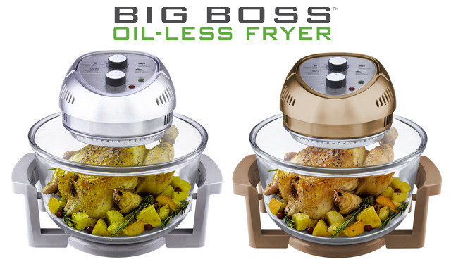 $109.90 for a Big Boss 16 Qt. Oil-less Fryer (a $149 Value)