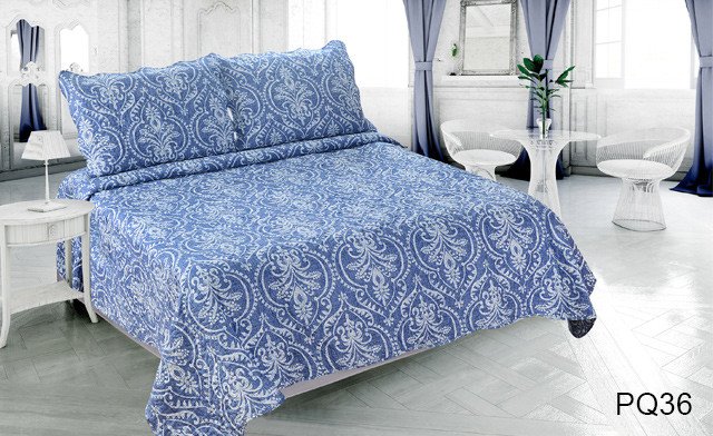 Up to 76% off a Reversible Printed Quilt Set