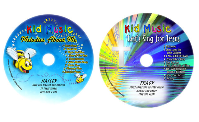 Up to 55% off Personalized Children's Books and Music CDs
