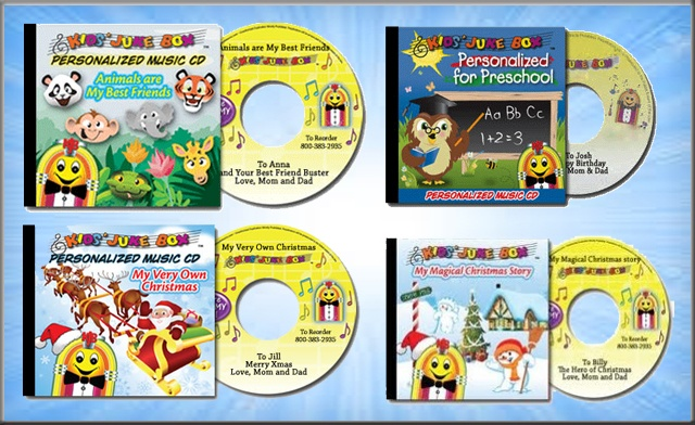 Up to 55% off Personalized Storybooks and Music CDs