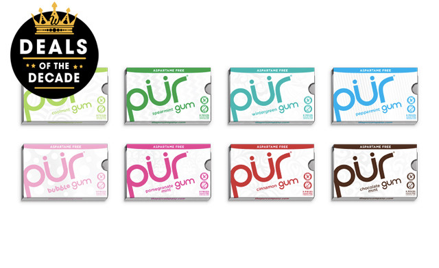 Click to view $24 for 24 Packs of PUR Gum (a $48 Value)