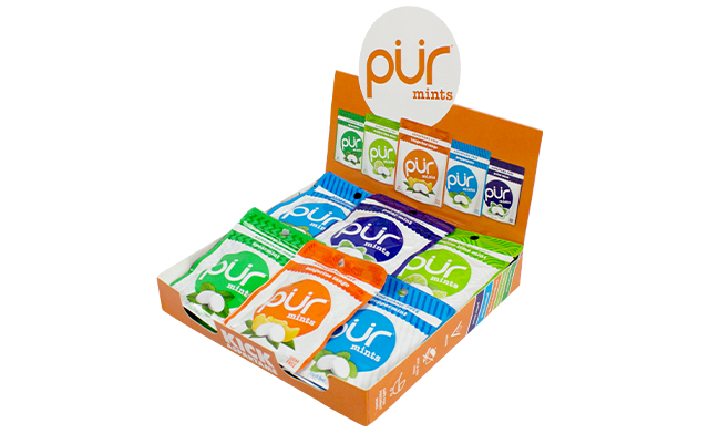 $22.99 for 15 Bags of Aspartame-Free, Gluten-Fee & Vegan PUR Mints (Up to a $38 Value)