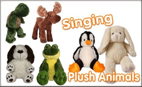 $18.95 for a Sing Your Name Stuffed Animal or Alarm Clock (a $39.99 Value)