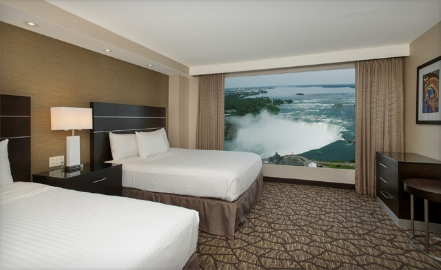 Relaxing Luxury Getaway Package in Niagara Falls with Meal Boxes Delivered to Your Room