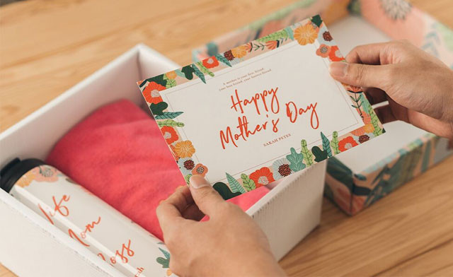 Up to 65% off Personalized Mother's Day Gift Packages