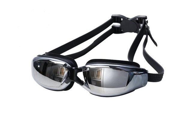 $18.53 for a 2-Pack of Black Anti-Fog Swimming Goggles (a $59 Value)