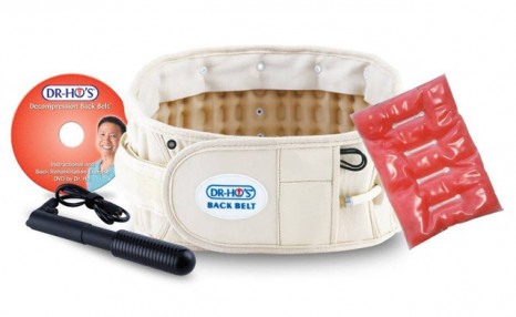 $89 for a DR-HO'S 2-in-1 Back Decompression Belt Package (a $199.97 Value)