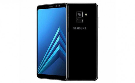 $329 for a Black Samsung Galaxy A8 32GB Unlocked Smartphone - Certified Refurbished (a $490 Value)