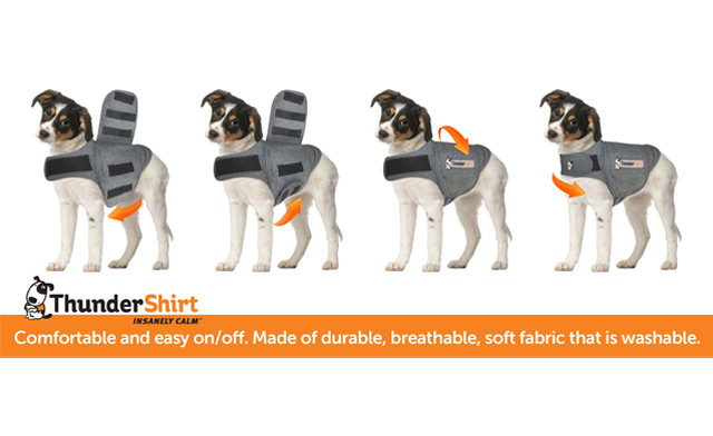 $22 for a Thunder Shirt Pet Anxiety Jacket (a $59.95 Value)