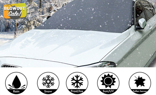 $12 for a Magnetic Windshield Cover (a $68 Value)