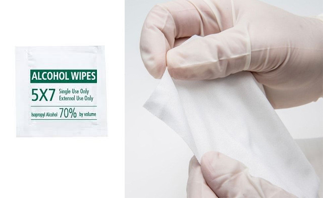 $14 for a Box of 100 Disposable Alcohol Towelette Wipes  (a $25 Value)