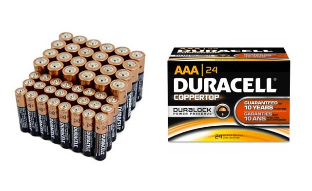 $25 for a 48-Pack of AA or AAA Duracell Batteries (a $44 Value)
