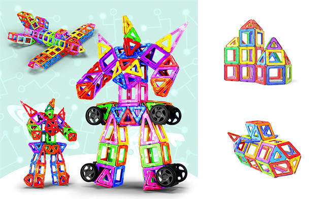 $78.97 for a Magnetic Building Set - 198 Pieces (a $145 Value)