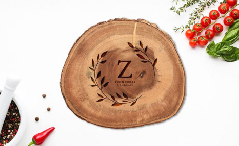 Up to 73% off Personalized Laser Wooden Serving Boards from Photobook Canada