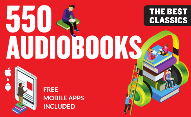 78% off an AudioBook Collection with Over 500 Books - Including Classics from Mark Twain, Oscar Wilde, Arthur Conan Doyle, Bram Stoker & More
