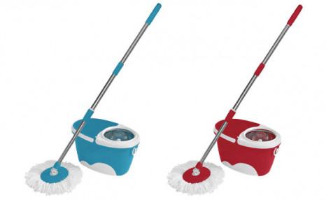 Click to view $27.82 for a Cyclone Spin Mop (a $64 Value)