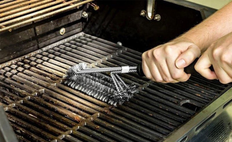 Click to view $14.76 for a Bristle Free Stainless Steel BBQ Brush (a $39 Value)