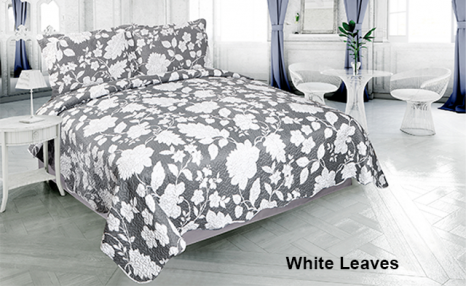 Click to view Up to 75% off Pinsonic 3-Piece Quilt Sets Featuring 4 Unique Designs