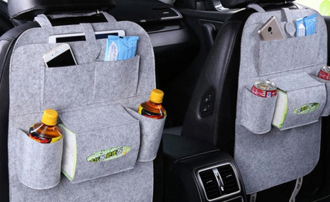 Click to view $23.90 for a Set of 2 Car Seat Organizers (a $49.99 Value)