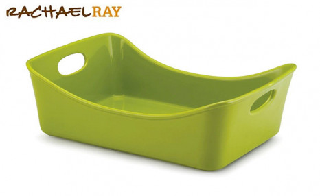 Click to view $32.90 for a Rachael Ray 9x13-Inch Ceramic Lasagna Pan (a $79.99 Value)