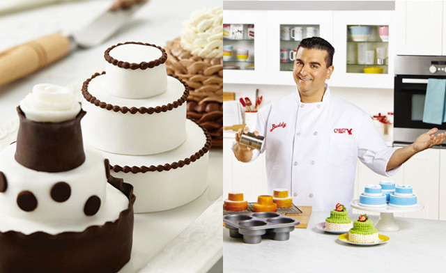 $9.90 for a Cake Boss Circle Cakelette Pan (a $19.99 Value)