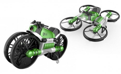Click to view $49 for a 2-in-1 RC Folding Motorcycle Drone (an $84.90 Value)