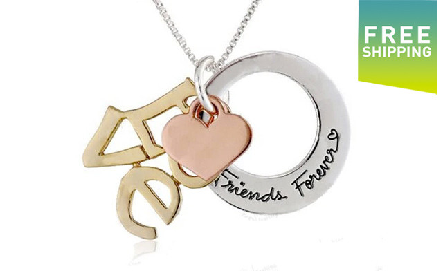 $15 for a Friends Forever Necklace - Shipping Included (a $54 Value)
