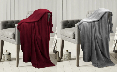 $19 for a 60x80-Inch Throw Blanket (a $49 Value)