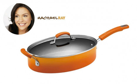 Click to view $39.90 for a Rachael Ray Oval Non-Stick Pan (a $99.99 Value)