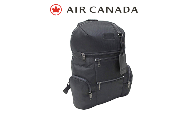Click to view $39.95 for the Air Canada Executive Backpack in Black (a $69.99 Value)