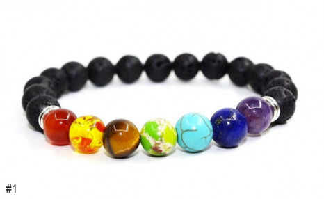 $12.95 for a Semi-Precious Bead Bracelet (a $39.99 Value)