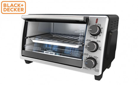 Click to view $34.95 for a Black + Decker Countertop Oven (a $99.99 Value)