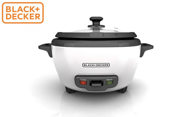 Up to 60% off Black + Decker Non-Stick Rice Cookers - Factory Reconditioned