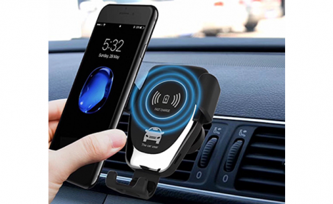 Click to view Up to 67% off a Smart Sensor Car Charger for Apple & Android Phones