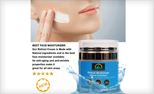 $39.99 for 2 Retinol Moisturizer Creams (a $99.90 Value)